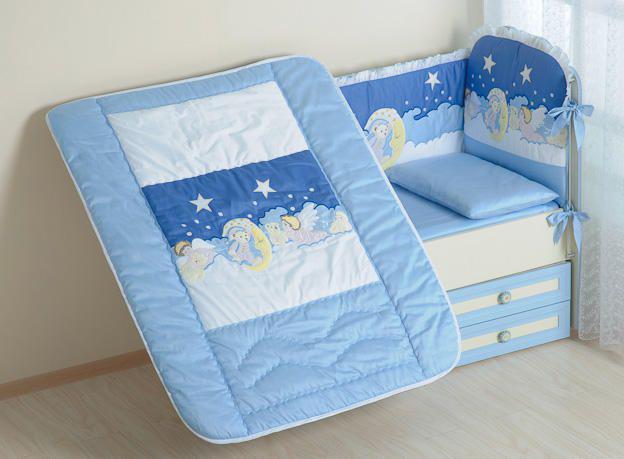 Одеяло для новорождённых в кроватку