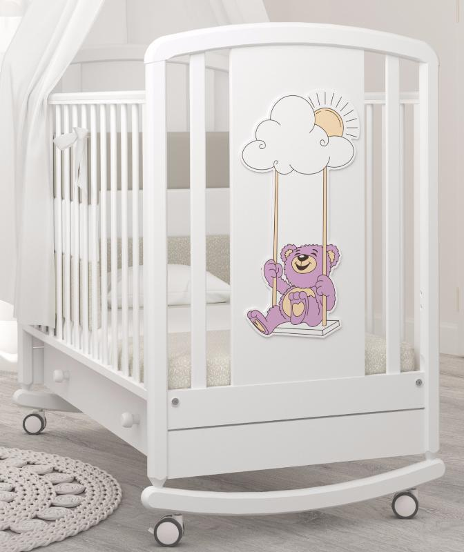 Кроватки качалки новорожденных недорого