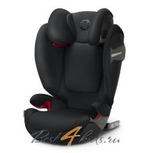 Автокресло Cybex Solution S-Fix Lavastone Black