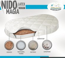 Матрас BabySleep Nido Magia Latex (125х75)